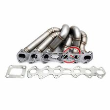 HP-Series Supra 2JZGTE 2JZ-GTE T4 Stainless Steel Equal Length T4 Turbo Manifold