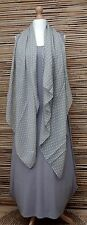 OVERSIZE SOFT & COSY SMALL POLKA DOTS FASHION SCARF *GREY*  BRAND NEW VISCOSE