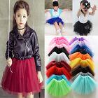 Cute Girls Kids Tutu Party Ballet Dance Wear Dress Skirt Pettiskirt Costume