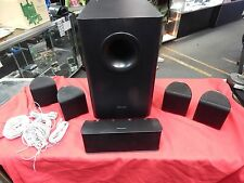 5.1 PIONEER HOME THEATER SPEAKERS & SUBWOOFER  S-11-P SURROUND S-22W-P