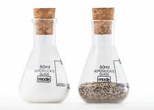 Earl Salt & Pepper Shakers - Lab Ware Based Cruet Set by Mode