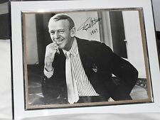 Fred Astaire AUTHENTIC Signed Framed Picture from 1967! RARE!