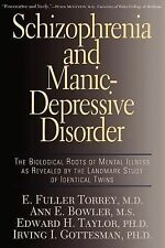 Schizophrenia And Manic-depressive Disorder: The Biological Roots Of Mental Illn