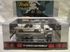 Hot Wheels CUSTOM TV SERIES BATMOBILE w/ 1938 FORD COE In Display Case!!!