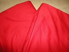 IKEA BLASIPPA TWIN DUVET COMFORTER COVER SOLID RED
