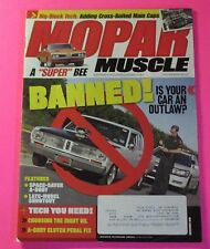 "MOPAR MUSCLE MAGAZINE DEC/2010...BANNED: IS YOUR CAR AN OUTLAW?...A ""SUPER BEE"""
