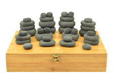 HOT STONE MASSAGE SET: 36 Basalt Stones