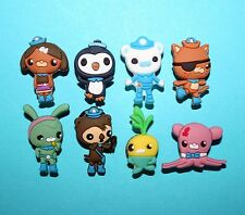 Octonauts Cake Toppers 8 Cupcake Decorations Charms Party Favours XMAS GIFT NEW