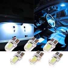 10x T10 194 168 W5W COB LED CANBUS Silica Bright White License Plate Light Bulbs