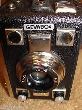 GEVABOX 6x9  FILM CAMERA 1951 MODEL