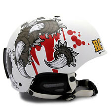 Decal Sticker For Helmet Motorcycle Snowboard Hard Hat Graphicer Design RAVEN 04