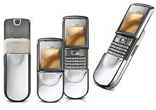 ORIGINAL Nokia 8800 Sirocco Silver 100% UNLOCKED GSM Cellular Phone Warranty EN