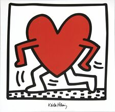 Untitled (1984) - Keith Haring Art Print 1988 Offset Lithograph Poster 27.5x27.5