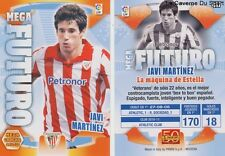 N°417 JAVI MARTINEZ ESPANA ATHLETIC CLUB BAYERN MEGACRACKS CARD PANINI LIGA 2012