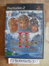 ELDORADODUJEU     !! SANS LE CD !! AGE OF EMPIRES II Pour PLAYSTATION 2 PS2 VF