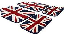 UNION JACK FULL CARPET FLOOR WELL MATS FOR Peugeot 206 207, 208 307 308 307 308