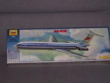 1/144 Zvezda IL-62M NEW Model Kit