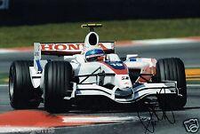"Forumla 1 test driver anothony DAVIDSON HAND SIGNED PHOTO 12x8 ""F1 annuncio"