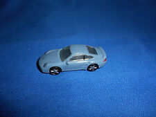 GREY Mini PORSCHE 911 TURBO COUPE Plastic Kinder Surprise CAR Vehicle