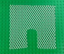 *NEW* Lego White 15x15 Stud Mesh Net w Opening Tents Jungle x 1 piece
