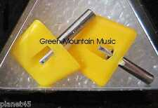 N.O.S SEEBURG YELLOW JUKEBOX NEEDLES -NR 345-03D ONE PAIR!! SEALED!!