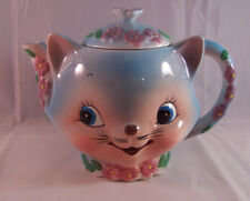 Vintage Anthropomorphic Chase Japan Cat Kitty Teapot Miss Priss Rare