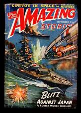 Pulp Magazine AMAZING STORIES September 1942 Blitz Against Japan