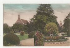 Reading Forbury Gardens 1907 Postcard 255a