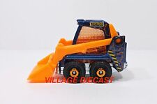 "2017 Matchbox ""Farm-Struction"" (Bobcat®) Skidster™ BLUE/TOYBOX CONSTRUCTION/MINT"