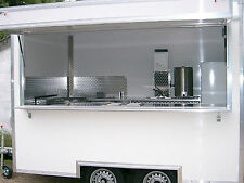 Brand New12 ft Mobile Catering Trailer for Sale / Burger Van  TYPE APPROVED