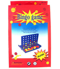 Portable Mini 13cm Travel LINE-UP 4 Connect Four in a Line 4-1 Row Bingo Game