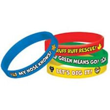 Paw Patrol Party Rubber Wristbands 4 Pieces
