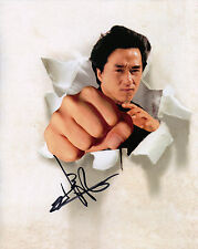 Jackie Chan Genuine Hand Signed 10X8 Photo (5526)