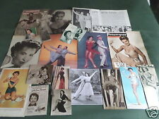 CYD CHARISSE - FILM STAR - VINTAGE CLIPPINGS /CUTTINGS PACK
