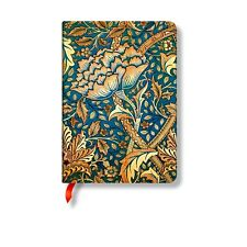 Paperblanks William Morris Windrush Midi Notebook. Lined paper notebook