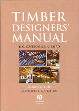 Timber Designers Manual,GOOD Book