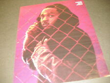 KENDRICK LAMAR behind chain link fence PROMO DISPLAY AD mint condition