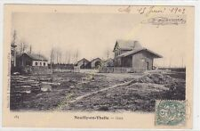 CPA 60530 NEUILLY EN THELLE Gare Edit FRéMONT ca1903