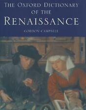 The Oxford Dictionary of the Renaissance-ExLibrary