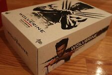 MMS220 Wolverine Hot Toys EMPTY BOX + INSERTS Instruction Book Shipper US SELLER