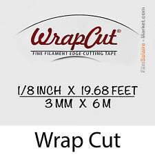 """WrapCut"" - 6m, fil de coupe film vinyl, adhésif, covering, wrap, Filament Tape"