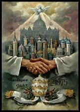 Weihnachten. Heiliges Jahr 1975. Postkarte. SoSt. Vatikan 1974
