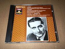 DINU LIPATTI/GALLIERA/ACKERMANN/GRIEG/PIANO CONCERTO/CHOPIN/PIANO CTO 1/CD EMI