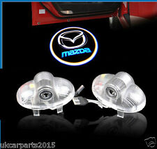 New MAZDA 6 Rx8 CX Laser light LED Car Door Ghost Shadow 2pcs Auto Logo Emblem