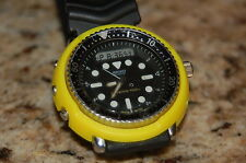 seiko h558 YELLOW  DURABLE PLASTIC shroud + 3 screws  tuna