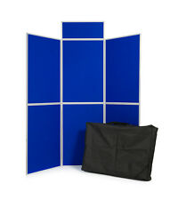Quality Portable Exhibition Display Stand 6Panel with header board and Carry Bag
