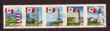 CANADA 2007 LIGHTHOUSES STRIP OF 5 FINE USED