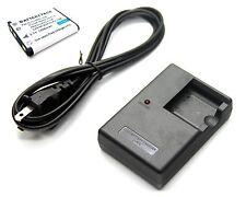 Battery + Charger for Olympus LI-41C LI41C LI-41CAA LI41CAA LI-41CBA LI-41CBA