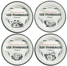 Gien Gastronomie Assorted Large Cheese Plates Set of 4