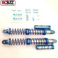 King Off-Road Scale Piggyback adjustable alli Shocks Faux Reservoir 110mm Wraith